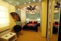 Люкс с элементами японского стиля и прихожей - Анапа