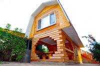 Трехместный домик с баней и балконом - Благовещенская